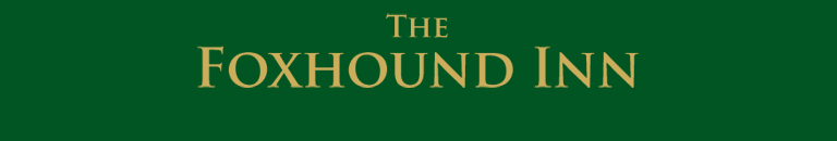 The Foxhound Inn - Mobile Header